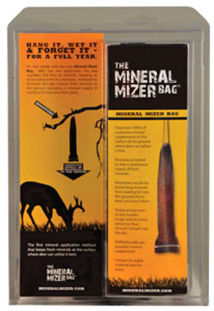 Year-Round Mineral with the Mineral Mizer Bag