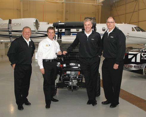 Ganassi Racing Teams up with Cessna