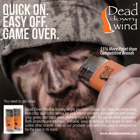 Dead Down Wind Intros Ambush Face Paint System Bowhunting Net