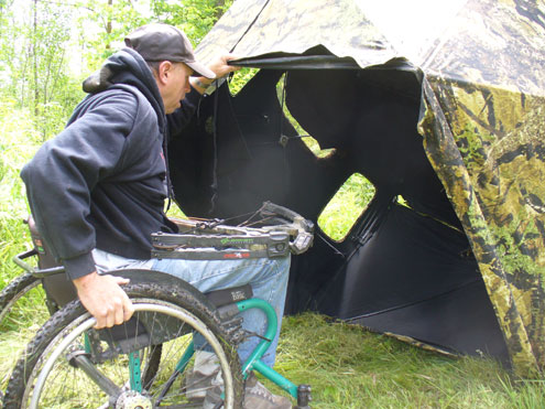 Wheelchair Hunting in Missouri