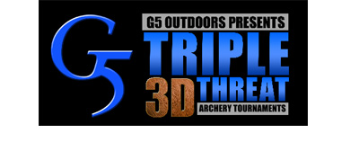 Partnership between Triple Threat 3D Archery Tournament and G5 Outdoors