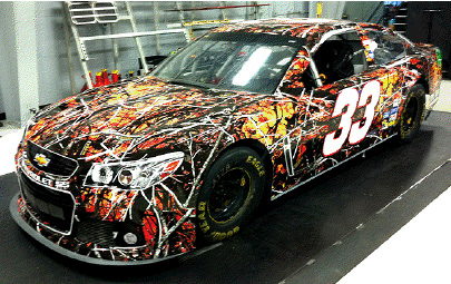 Wildfire Camouflage™ Debuts At NASCAR