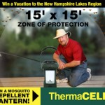 Enter to WIN a FREE ThermaCELL Mosquito Repellent Outdoor Lantern.