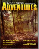 BOWHUNTING ADVENTURES June Issue Available Now