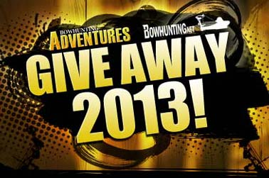 Your Chance to Win Big! Bowhunting Adventures GiveAway 2013