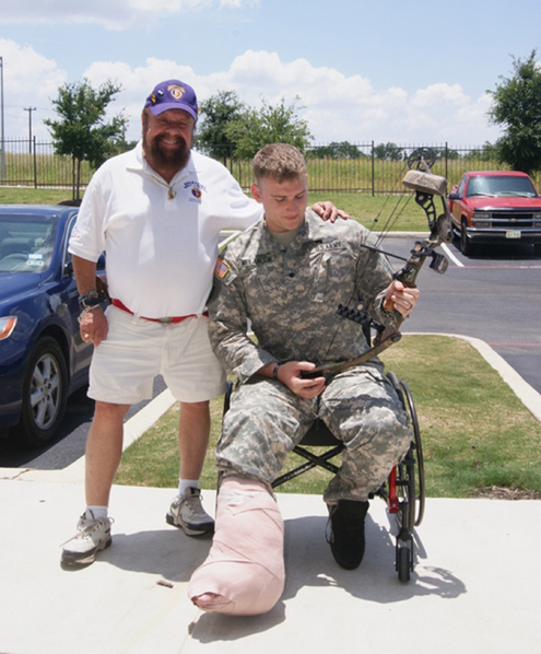'OPERATION BOWS AND HEROES' Joins 'THE MOONLIGHT FUND' for Wounded Military.