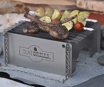 SlatGrill is a Hungry Camper's Dream