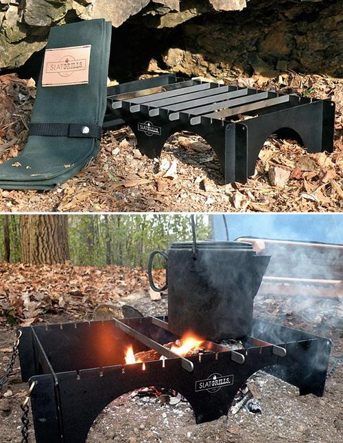 500-SlatGrill-Cooking