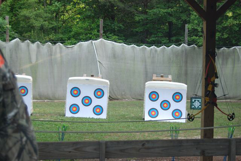 Range ready to go with our Big Green Targets