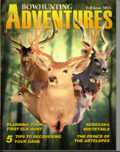 Bowhunting Adventures Magazine Fall Issue Ready to Enjoy.