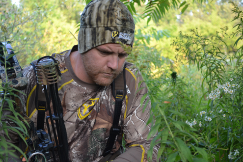 Trailing a deer can lead the hunter into sacred ground. be sure to remain scent free.