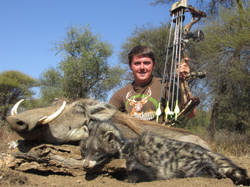 Africa once again rolls out the game for our accurate bowhunter.