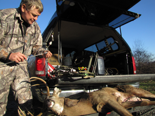 I've used N-O-DOR Oxidizer for over a decade and every year bucks walk within bow range. The last thing they hear is string-twang, and then it's time to ride in my truck. Bowhunting biologist, Wade Nolan
