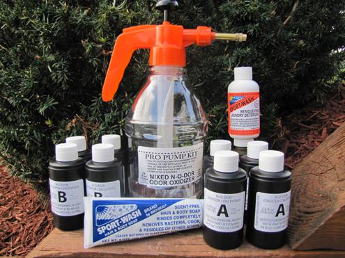 N-O-DOR Oxidizer Pro Pump Kit. The answer for scent suppression.