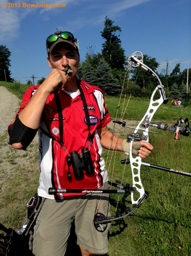 """IBO World Championship with your Flathead release in the Men's Pro Division.  Thanks for the great release, it is one of the most accurate index triggers I have ever shot.  Ill be using it and the .44 Caliber for the rest of the year."""""""