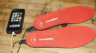 Gear Review: ThermaCELL Heated Insoles