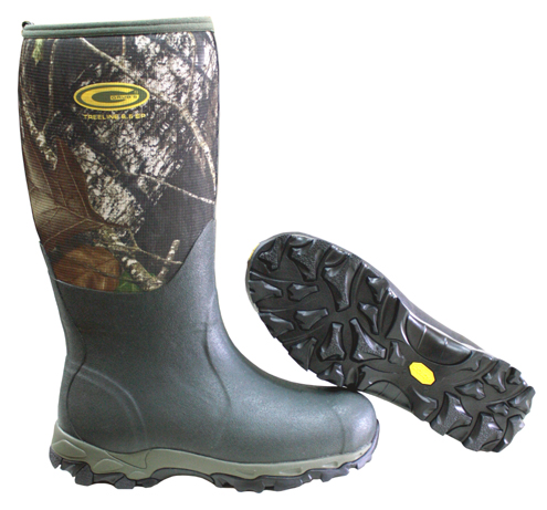 The Treeline 8.5 means the boots have 8.5mm of insulation. They are tested from +60 to -40 degrees Fahrenheit.