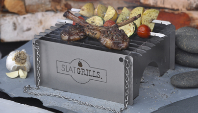 New SlatGrate for Camp Cooking