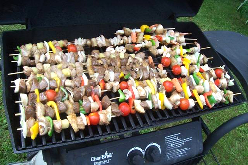 Gator kabobs are an excellent way to enjoy the tasty alligator meat.