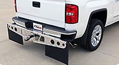 ROCKSTAR Hitch Mounted Mud Flaps From Agri-Cover Protect Whats Towed
