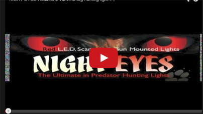 Gear Review: Night Eyes Varmint/Hog Hunting Light