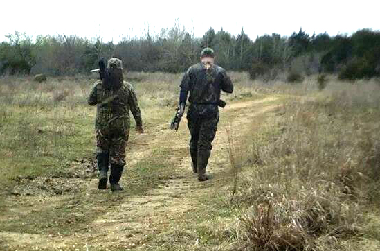 Aaron and Tonya Priest, a couple who hunts together.