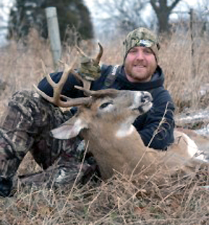 After working on this article, the author took some of the advice and was able to put his tag on this nice late season Michigan buck.