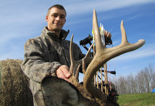 Here is a bowhunter I grew. The payoff is big.