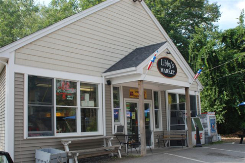Libby's Market boasts Maine's #1 voted Lobster Roll