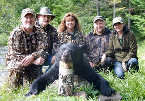 Jim, Ryan, Lynne,  Morton and Tova.  We have made great friends in bear camp.