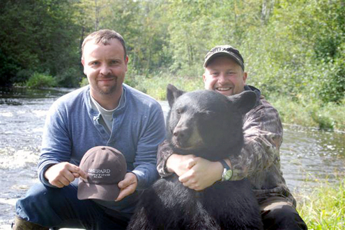 Ryan Shepard, owner of Shepard Hunting Company and Morton.  They have been friends since High School when Morton was a foreign exchange student.  They met through a mutual friend.