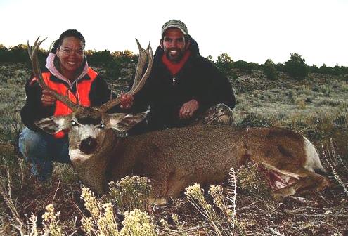 Ryan and Sheila Hunt, hunt together.