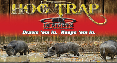 HOG TRAP Attractant Brings Hogs In