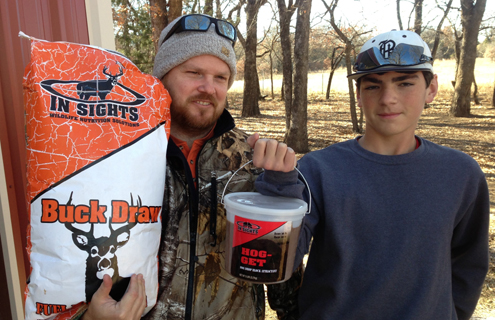 From deer to hogs, the author depends on In Sights Nutrition products.