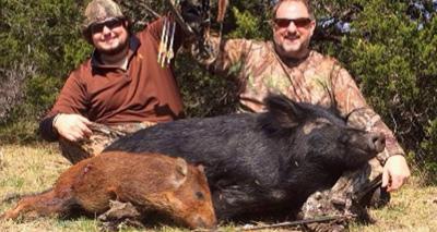 Minnesota Bowhunters VS Wild Hogs: Day 5