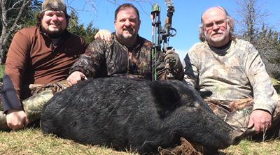 Minnesota Bowhunters VS Wild Hogs: Day 3