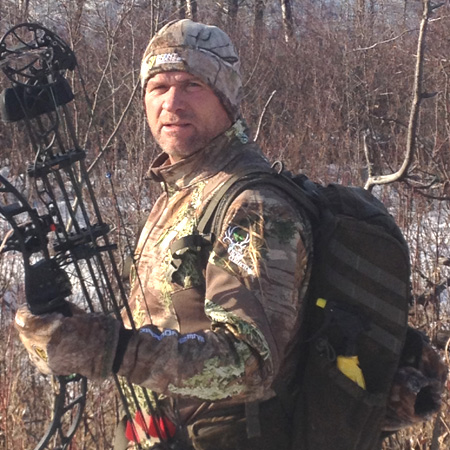 Rob Dunham depends on ScentBlocker scent controlling power no matter where or what he hunts.