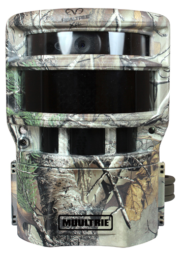 There's No Hiding from Moultrie's New Panoramic 150i Game Camera With a 150 degree range, the Moultrie Panoramic 150I Revolutionizes the World of Scouting Cameras