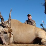 Eland was the first to fall to Terry's arrow.