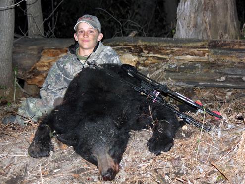 Tekoha takes his second bear.