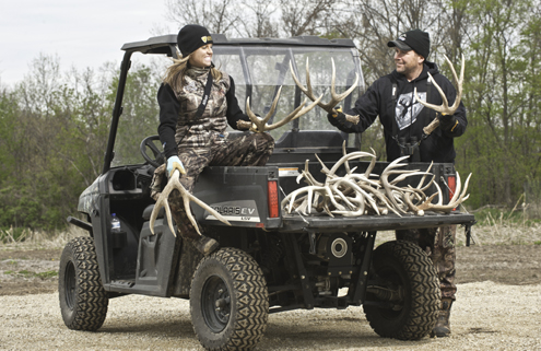 A good day spent shed hunting has it's own rewards.