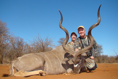 This trophy Kudu was added to the list.