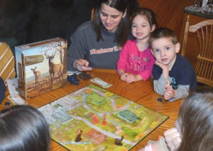 The perfect game to engage and teach your young family members!