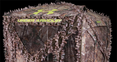 Ameristep & Under Armour  – New Carnage Ground Blind
