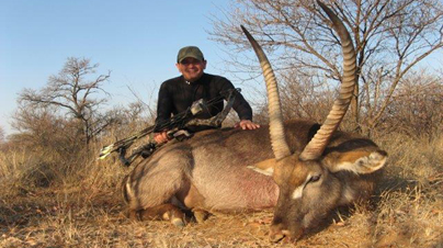 Bowhunting Africa with Dries Visser Safaris