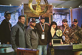 Team Outdoor Edge 1st Place
