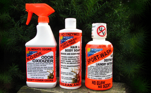 If you want to be truly effective in the whitetail woods you must be a clean fanatic. The three steps are accomplished by using this trio of scent suppression strategies.