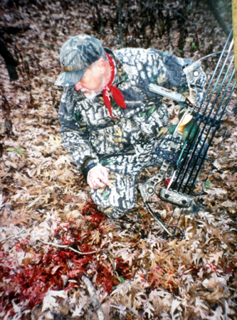 If a blood trail you're following leads onto neighboring posted property, what legal and ethical steps do you take to recover your animal? Bowhunters often face such thorny decisions.
