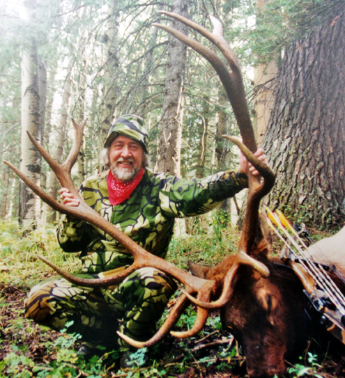 I tagged his P&Y bull in 1996 with one arrow at just over 20 yards. Even while hunting larger, elk-sized animals, I now resist the temptation to take long-range shots. Though I've killed game standing 60 to 70 yards away, I prefer the challenge of working within 30 to 40 yards for pinpoint shot placement.