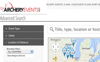 New Site for Managing Archery Events